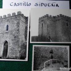 Fotografía antigua: FOTOS ANTIGUAS 15X11 CASTILLO DE SIDUEÑA CADIZ. Lote 140684118