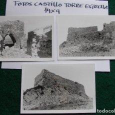 Fotografía antigua: FOTOS ANTIGUAS 14X9 CASTILLO DE TORRE ESTRELLA CADIZ. Lote 140684222