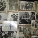 Fotografía antigua: LOTE 9 FOTOS ANTIGUAS DE ALICANTE PLAYA S JUAN BAR NACIONAL MOTO ALICANTINOS. Lote 140711070