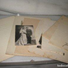 Fotografía antigua: LOTE DE 8 FOTOGRAFIAS ANTIGUAS. AÑOS 60. Lote 140739218