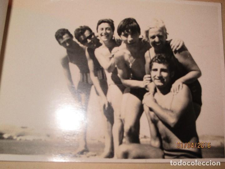 Fotografía antigua: CEUTA LOTE 8 CEUTIES FOTOS ANTIGUAS CHICOS EN PLAYA OFICIAL MILITAR - Foto 9 - 141478162