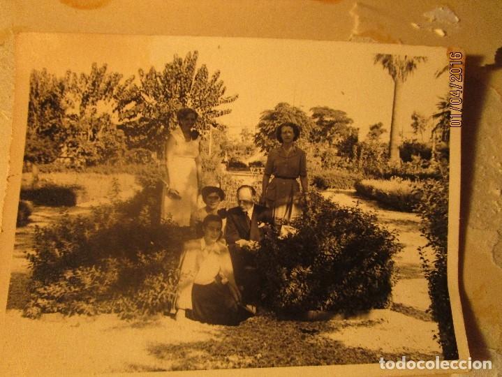 Fotografía antigua: CEUTA LOTE 8 CEUTIES FOTOS ANTIGUAS CHICOS EN PLAYA OFICIAL MILITAR - Foto 4 - 141478162