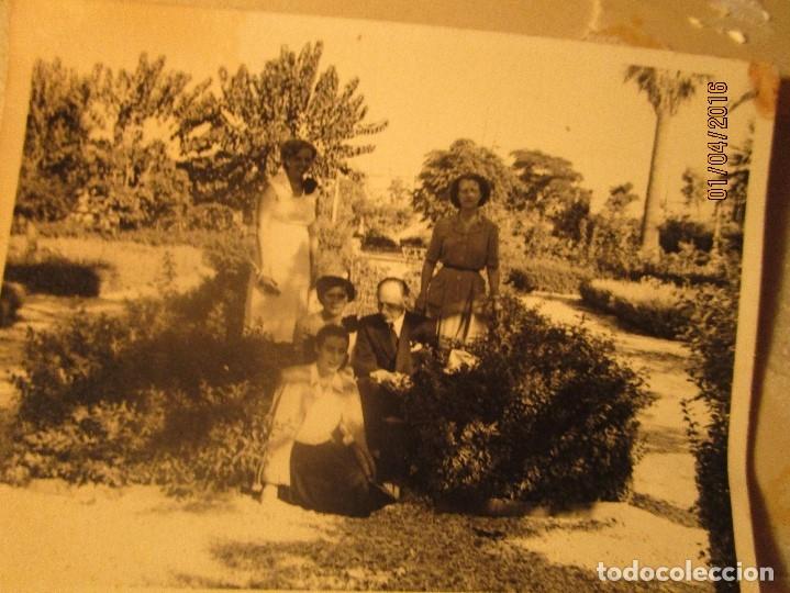Fotografía antigua: CEUTA LOTE 8 CEUTIES FOTOS ANTIGUAS CHICOS EN PLAYA OFICIAL MILITAR - Foto 10 - 141478162
