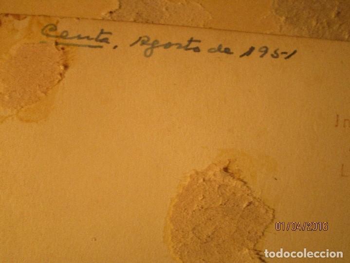 Fotografía antigua: CEUTA LOTE 8 CEUTIES FOTOS ANTIGUAS CHICOS EN PLAYA OFICIAL MILITAR - Foto 16 - 141478162