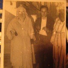 Fotografía antigua: CARNAVALES EN CEUTA RARA FOTO AÑOS 40. Lote 141616550