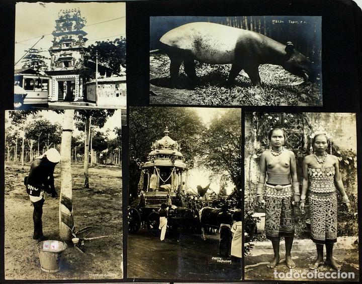 AROUND THE WORLD S.S. RESOLUTE 1927. ALBUM FOTOGRÁFICO. 470 IMÁGENES APROX. U.S.A. 1927 (Fotografía - Artística)