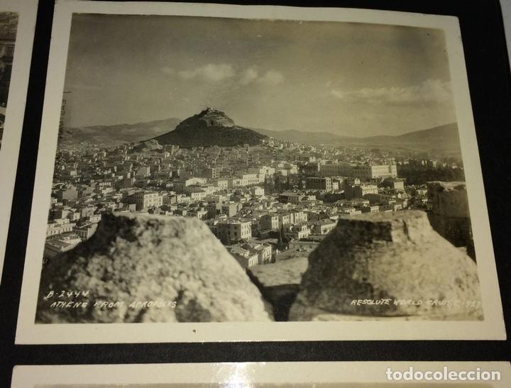 Fotografía antigua: AROUND THE WORLD S.S. RESOLUTE 1927. ALBUM FOTOGRÁFICO. 470 IMÁGENES APROX. U.S.A. 1927 - Foto 2 - 141910898