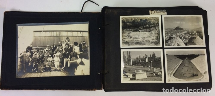 Fotografía antigua: AROUND THE WORLD S.S. RESOLUTE 1927. ALBUM FOTOGRÁFICO. 470 IMÁGENES APROX. U.S.A. 1927 - Foto 4 - 141910898