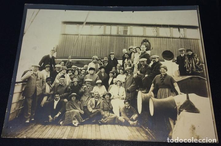 Fotografía antigua: AROUND THE WORLD S.S. RESOLUTE 1927. ALBUM FOTOGRÁFICO. 470 IMÁGENES APROX. U.S.A. 1927 - Foto 9 - 141910898
