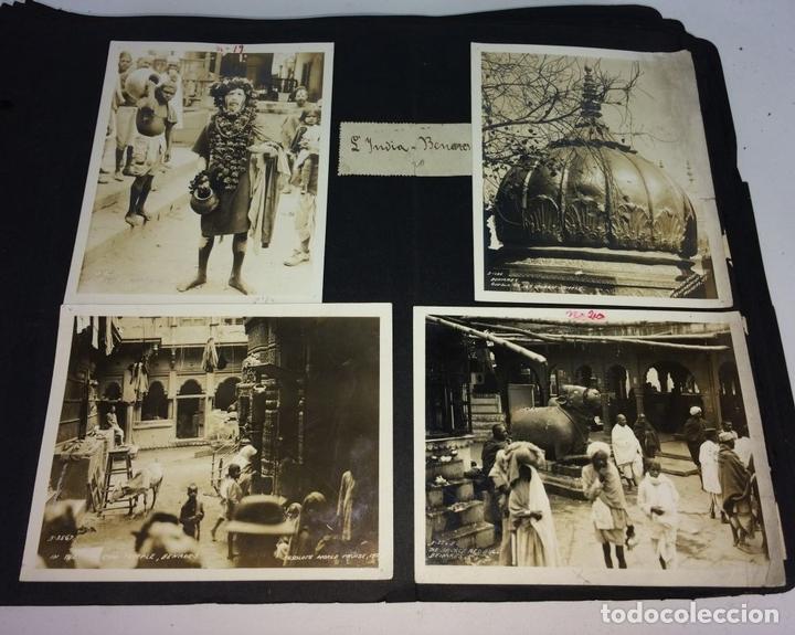 Fotografía antigua: AROUND THE WORLD S.S. RESOLUTE 1927. ALBUM FOTOGRÁFICO. 470 IMÁGENES APROX. U.S.A. 1927 - Foto 11 - 141910898