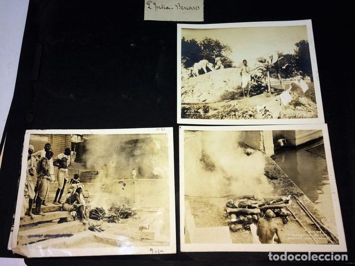 Fotografía antigua: AROUND THE WORLD S.S. RESOLUTE 1927. ALBUM FOTOGRÁFICO. 470 IMÁGENES APROX. U.S.A. 1927 - Foto 13 - 141910898