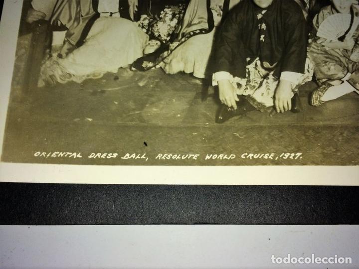 Fotografía antigua: AROUND THE WORLD S.S. RESOLUTE 1927. ALBUM FOTOGRÁFICO. 470 IMÁGENES APROX. U.S.A. 1927 - Foto 14 - 141910898