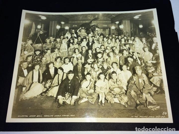 Fotografía antigua: AROUND THE WORLD S.S. RESOLUTE 1927. ALBUM FOTOGRÁFICO. 470 IMÁGENES APROX. U.S.A. 1927 - Foto 16 - 141910898