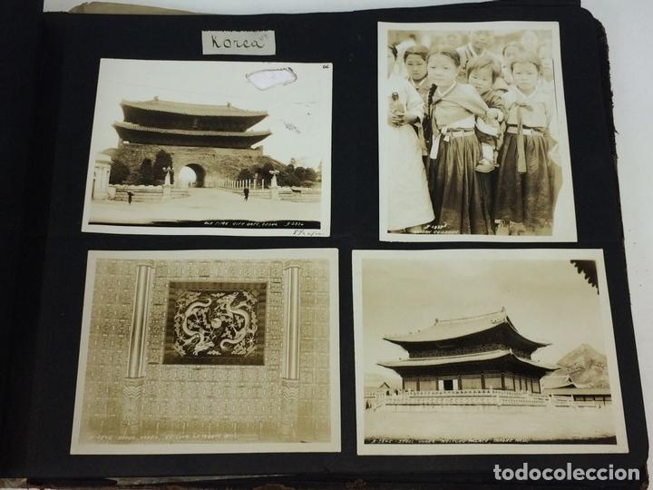 Fotografía antigua: AROUND THE WORLD S.S. RESOLUTE 1927. ALBUM FOTOGRÁFICO. 470 IMÁGENES APROX. U.S.A. 1927 - Foto 25 - 141910898