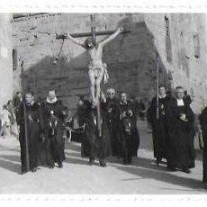 Fotografía antigua: F-3956. FOTOGRAFIA POSTAL, PROCESION EN BARCELONA.. Lote 142060674