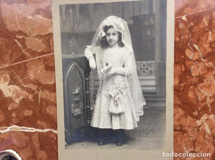 Fotografía antigua: Fotografia antigua firmada de Escola Zaragoza 33cmx23cm. - Foto 5 - 142319998