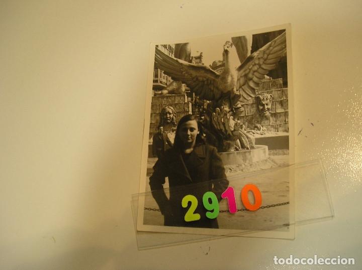 Fotografía antigua: FALLA FALLAS DE VALENCIA ANTIGUA FOTO FOTOGRAFIA monumento fallero - Foto 3 - 142829282