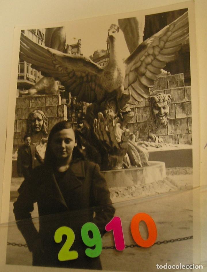 Fotografía antigua: FALLA FALLAS DE VALENCIA ANTIGUA FOTO FOTOGRAFIA monumento fallero - Foto 2 - 142829282