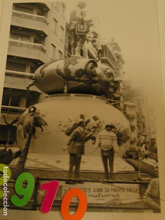 FALLA FALLAS DE VALENCIA ANTIGUA FOTO FOTOGRAFIA MONUMENTO FALLERO (Fotografía - Artística)