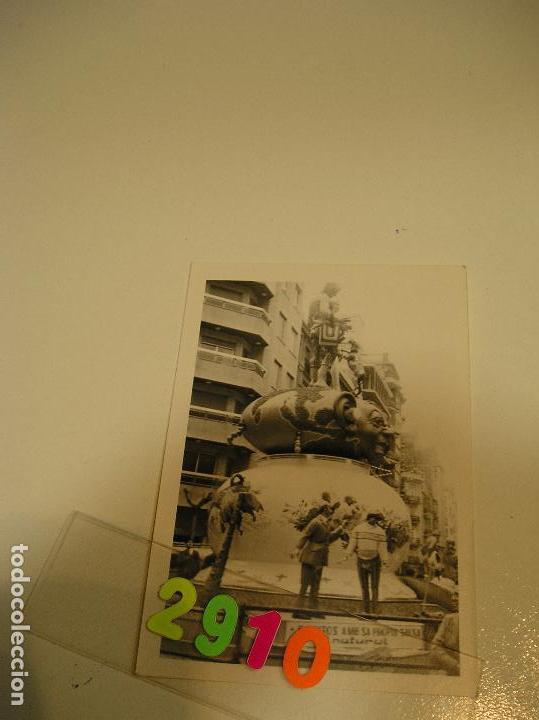 Fotografía antigua: FALLA FALLAS DE VALENCIA ANTIGUA FOTO FOTOGRAFIA monumento fallero - Foto 2 - 142829418
