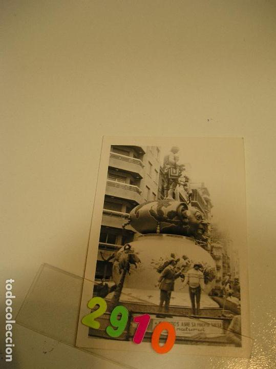 Fotografía antigua: FALLA FALLAS DE VALENCIA ANTIGUA FOTO FOTOGRAFIA monumento fallero - Foto 3 - 142829418