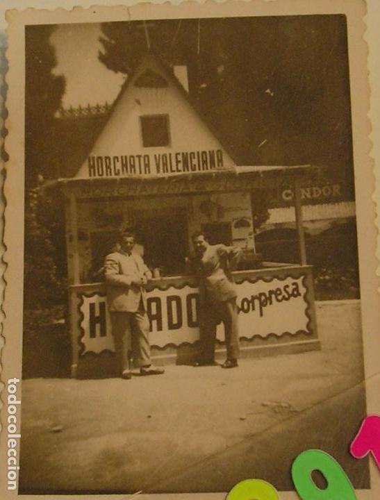 FALLA FALLAS DE VALENCIA ANTIGUA FOTO FOTOGRAFIA CASETA PUESTO AMBULANTE (Fotografía - Artística)