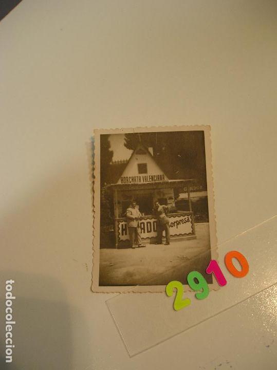 Fotografía antigua: FALLA FALLAS DE VALENCIA ANTIGUA FOTO FOTOGRAFIA caseta puesto ambulante - Foto 2 - 142829758