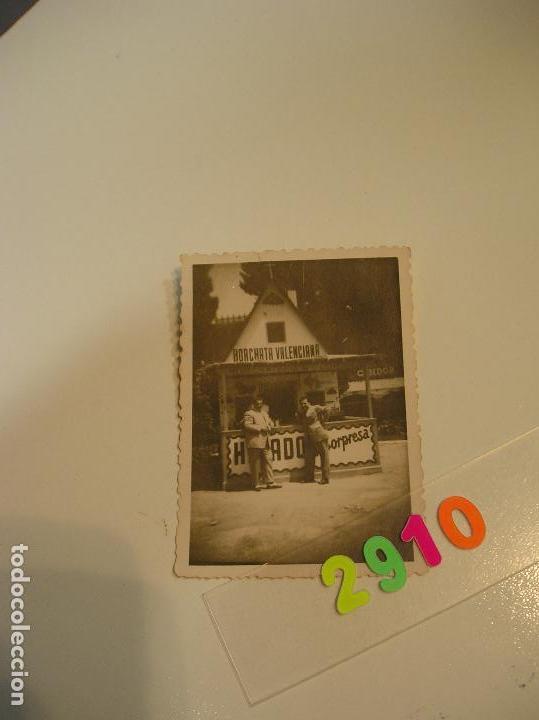 Fotografía antigua: FALLA FALLAS DE VALENCIA ANTIGUA FOTO FOTOGRAFIA caseta puesto ambulante - Foto 3 - 142829758