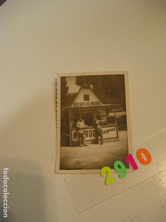 Fotografía antigua: FALLA FALLAS DE VALENCIA ANTIGUA FOTO FOTOGRAFIA caseta puesto ambulante - Foto 4 - 142829758