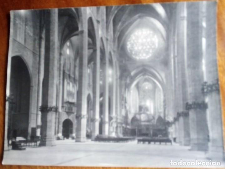 PALMA MALLORCA. 2 FOTOS DE TRUYOL 24X18 CM. LA CATEDRAL Y LA LONJA (Fotografía - Artística)