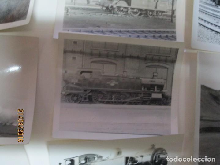 Fotografía antigua: LOTE FOTOS de album ANTIGUO DE TRENES ALEMANES EN GUERRA ESTACION GUERRA MUNDIAL ALEMANA - Foto 12 - 143710398