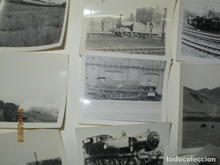 Fotografía antigua: LOTE FOTOS de album ANTIGUO DE TRENES ALEMANES EN GUERRA ESTACION GUERRA MUNDIAL ALEMANA - Foto 13 - 143710398