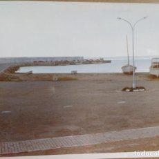 Fotografía antigua: FOTOGRAFIA AEREA PUERTO MARBELLA (MALAGA), MEDIDAS,12 X 18 CM. Lote 144032890
