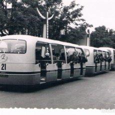 Fotografía antigua: BRUSELAS. AUTOBUS MERCEDES BENZ AÑO 1958. Lote 144543422