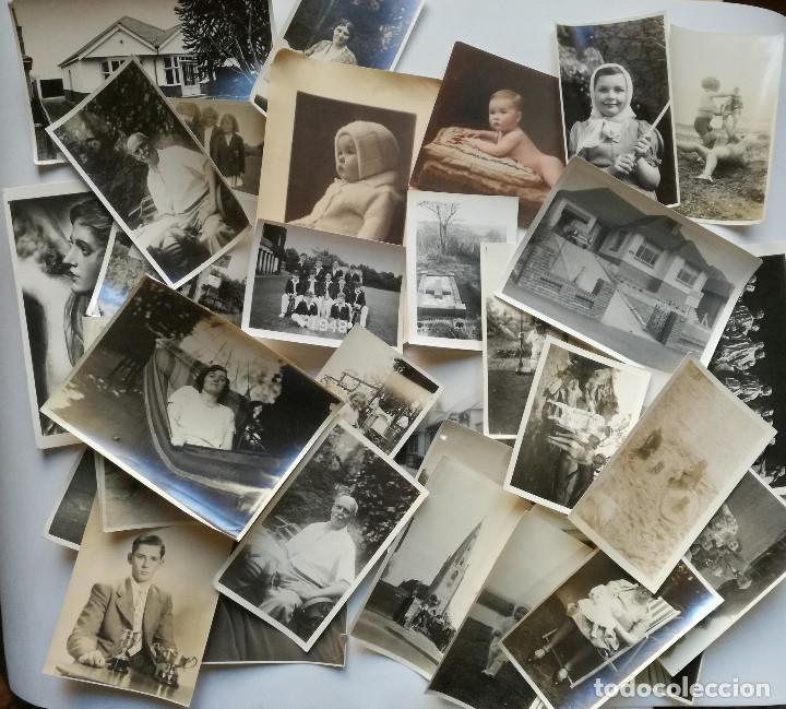 LOTE 34 FOTOGRAFIAS ANTIGUAS (Fotografía - Artística)