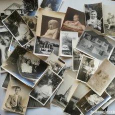 Fotografía antigua: LOTE 34 FOTOGRAFIAS ANTIGUAS. Lote 144632758