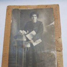 Fotografía antigua: FOTOGRAFÍA ANTIGUA 1924 MATARREDONA ALCOY. Lote 145010922