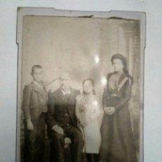 Fotografía antigua: FOTOGRAFÍA DE ESTUDIO M. CHICHARRO BISI, SANTIAGO DE COMPOSTELA 1899. GALICIA.. Lote 145289129