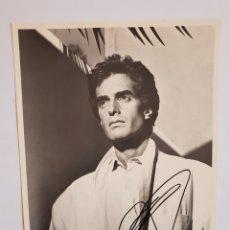 Fotografía antigua: FOTOGRAFÍA FIRMADA DAVID COPPERFIELD 1987. Lote 145603580