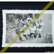 Fotografía antigua: FOTOGRAFÍA AÑOS 50 60 EL PICKNICK POSIBLEMENTE ZONA ALICANTE. Lote 146143294