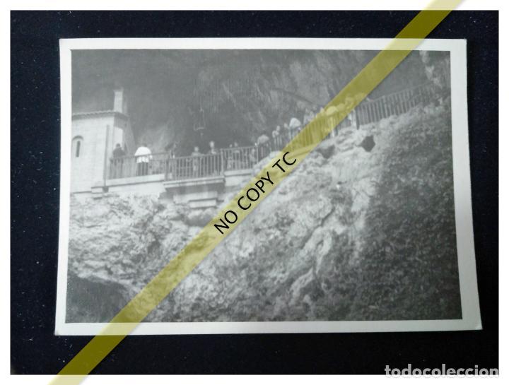 FOTOGRAFÍA ASTURIAS COVADONGA ERMITA DE CANGAS DE ONÍS AÑOS 50 60 (Fotografía - Artística)