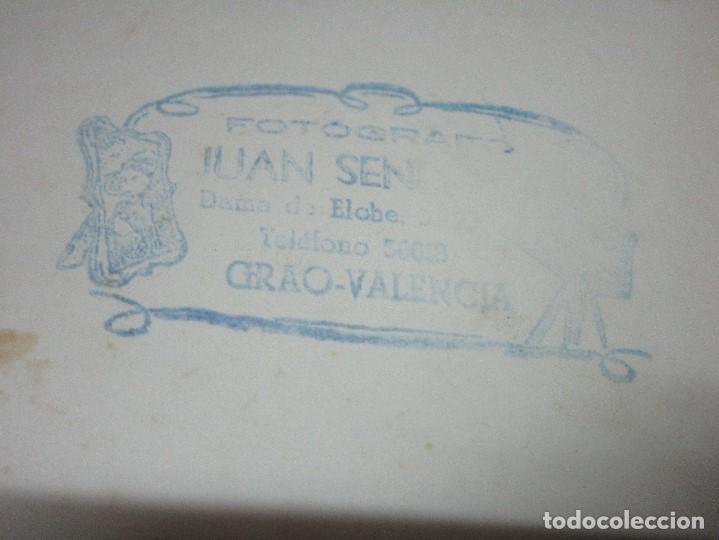 Fotografía antigua: GRACIOSA FOTO VALENCIA PLANTILLA FUTBOL ANTIGUA GRAO QUIZAS EN FIESTAS - Foto 3 - 146322934