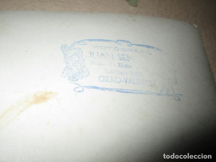 Fotografía antigua: GRACIOSA FOTO VALENCIA PLANTILLA FUTBOL ANTIGUA GRAO QUIZAS EN FIESTAS - Foto 4 - 146322934