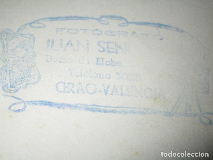 Fotografía antigua: GRACIOSA FOTO VALENCIA PLANTILLA FUTBOL ANTIGUA GRAO QUIZAS EN FIESTAS - Foto 5 - 146322934