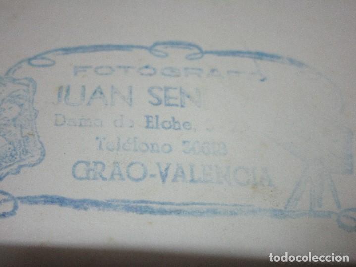 Fotografía antigua: GRACIOSA FOTO VALENCIA PLANTILLA FUTBOL ANTIGUA GRAO QUIZAS EN FIESTAS - Foto 6 - 146322934