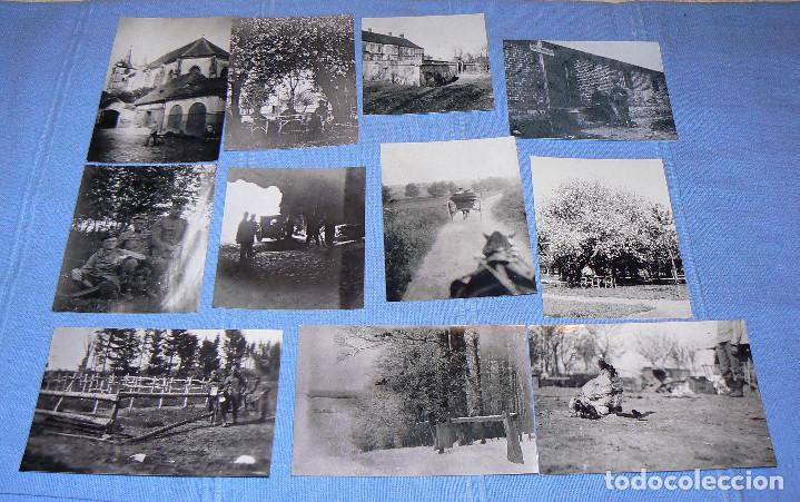 Fotografía antigua: 65 fotografías reproducciones de la 1ª Guerra Mundial - Foto 2 - 146426110