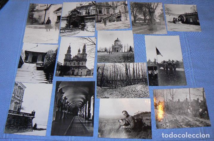 Fotografía antigua: 65 fotografías reproducciones de la 1ª Guerra Mundial - Foto 5 - 146426110