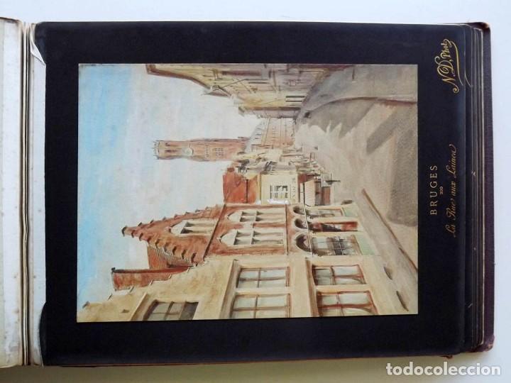 Fotografía antigua: Bruges, espectacular Album de grandes dimensiones con 19 fotografías pintadas, datado hacia 1880 - Foto 18 - 146436826