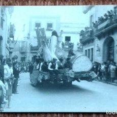 Fotografía antigua - CABALGATA - CARROZA - 146742602