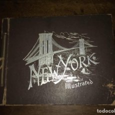 Fotografía antigua: ÁLBUM DE FOTOGRAFÍAS -NEW YORK ILLUSTRATED-THE ARTOGRAVURE CO. MUY ANTIGUO.. Lote 146943682